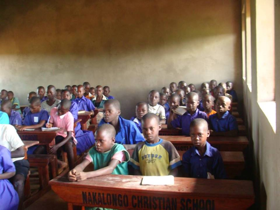 Children on Desks equipped in Classrooms