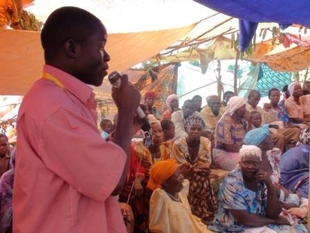 AIDS sensitizing community workshop