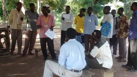 training church officials
